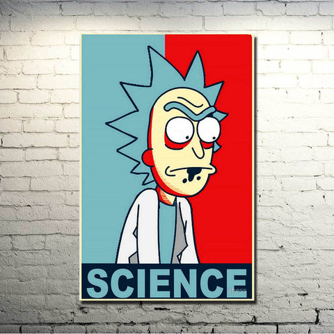 Rick Science Print Poster