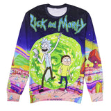 Rick and Morty Portal full print Sweatshirt