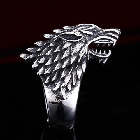 Stark Sigil Ring - Game Of Thrones