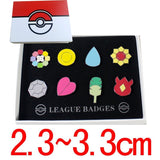 Pokemon Gym Badges 8pcs Box Collection