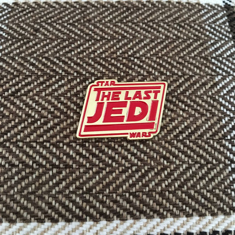 The Last Jedi Lapel Pin