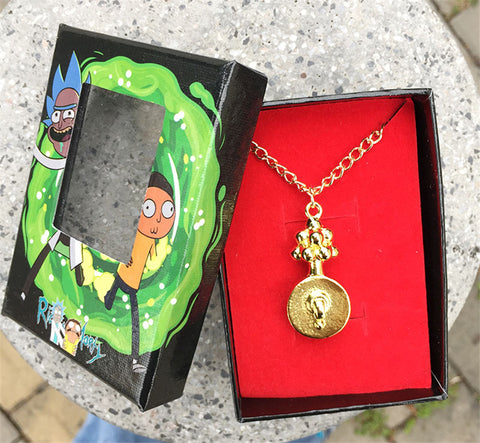 Gold Plumbus Necklace