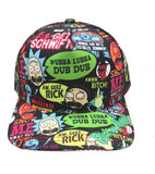 Rick and Morty baseball caps