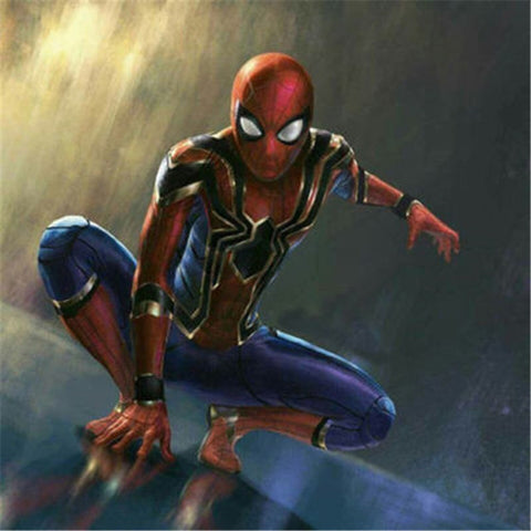 Iron Spider-Man Cosplay Costume