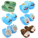 Rick and Morty Slippers Mr. Meeseeks  Morty, Rick, Pickle Rick