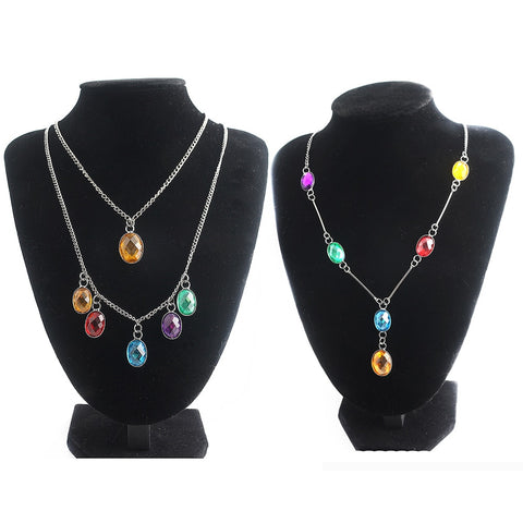 Infinity Stones Necklaces - Infinity War Thanos