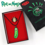 Pickle Rick Necklace + Rick Ring