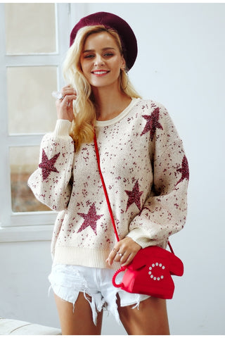 Christmas star Sweater