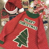 Merry Christmas Tree - Ugly Christmas Sweater