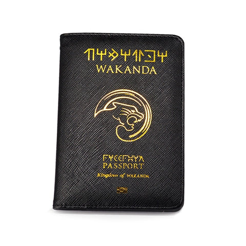 Black Panther Wakanda Passport Cover