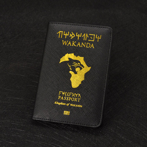 Wakanda Passport Cover - Black Panther