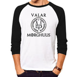 Valar morghulis long sleeve T-Shirt - Game of thrones