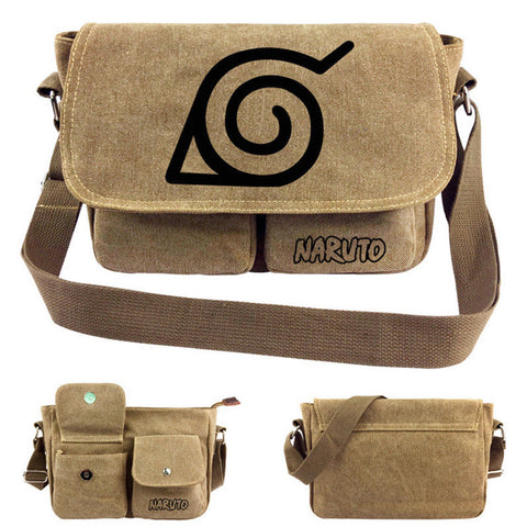 NARUTO Canvas Messenger Bag