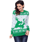 Naughty Reindeer Christmas Sweater