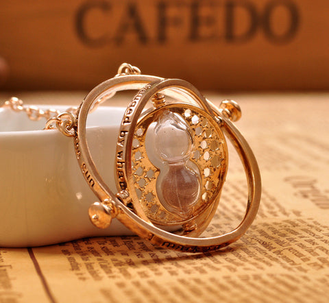 Time Turner Necklace Hourglass
