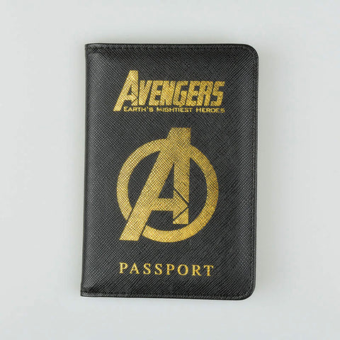 SHIELD Marvel Avengers Passport Cover