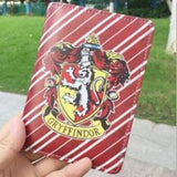 Full Color Hogwarts Houses Passport Cases - Slytherin, Hufflepuff, Gryffindor, Ravenclaw