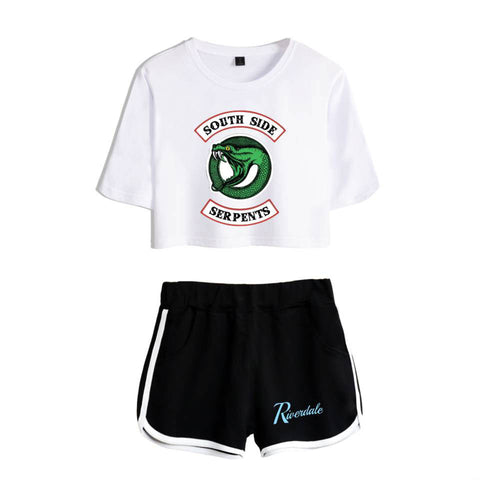 Two Piece Riverdale Southside Serpents Outfit