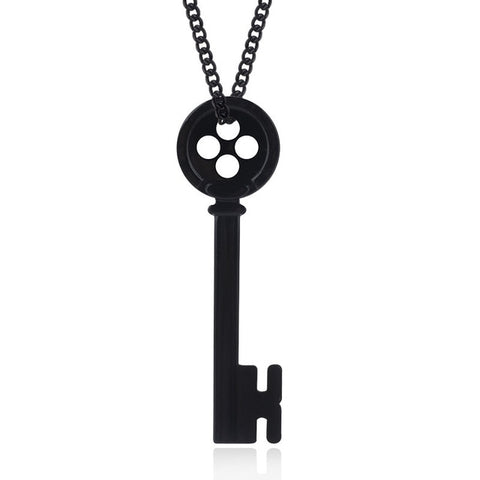 Coraline & the Secret Door Necklace Skeleton Key