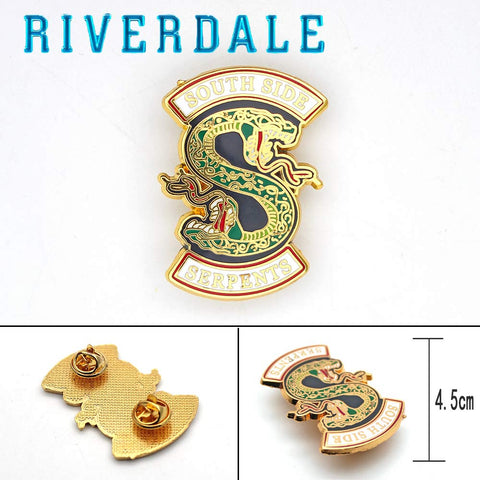 Riverdale South Side Serpents Metal Pin