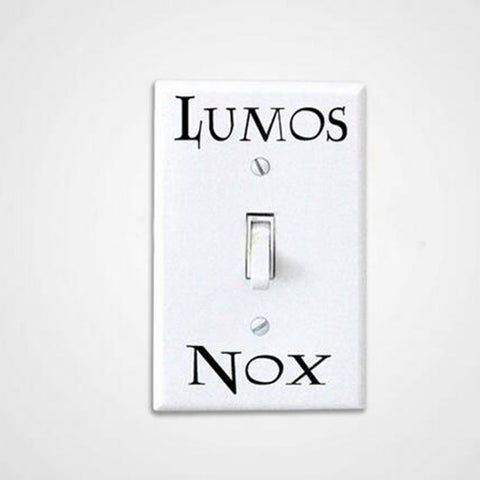 Lumos Nox Light Switch Sticker 3 Pcs/Set