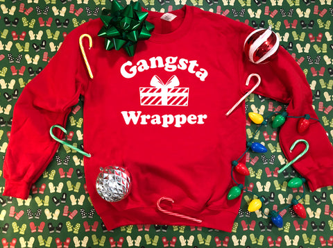 Gangsta Wrapper  - Ugly Christmas Sweater