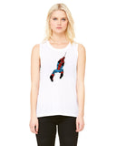 Spiderman Vintage - Womens Muscle Tank