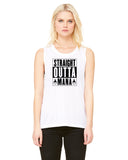 Straight outta Mana  - Womens Muscle Tank