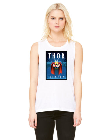 Vintage Thor - Womens Muscle Tank