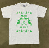 Merry Christmas Ya Filthy Muggle - Green print