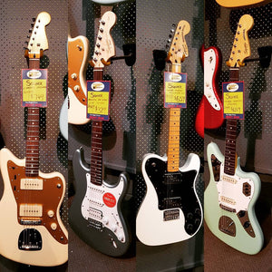 Fresh Batch of Squier Electrics Just In!