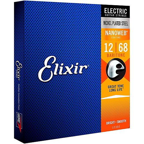 Elixir Nanoweb Nickel Wound Electric Guitar Strings