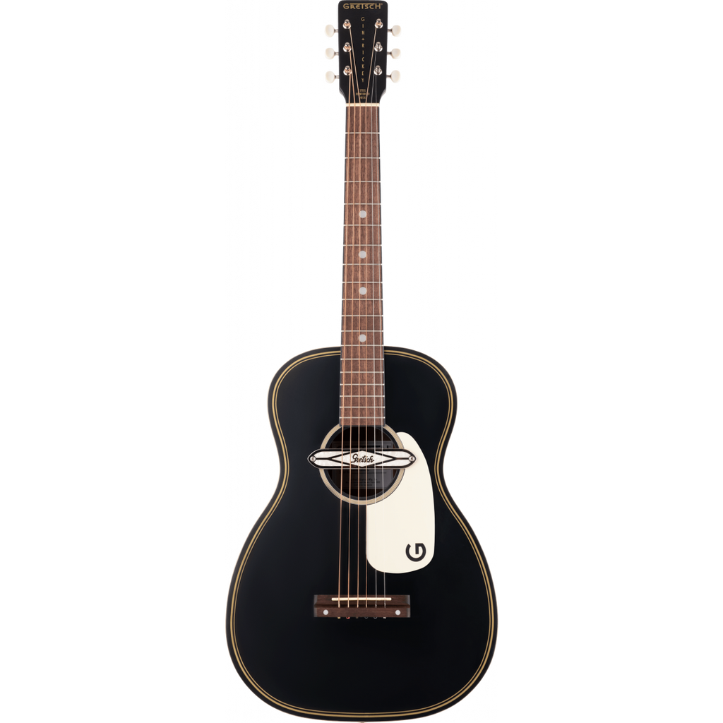 Gretsch G9520E Gin Rickey Acoustic/Electric Smokestack Black