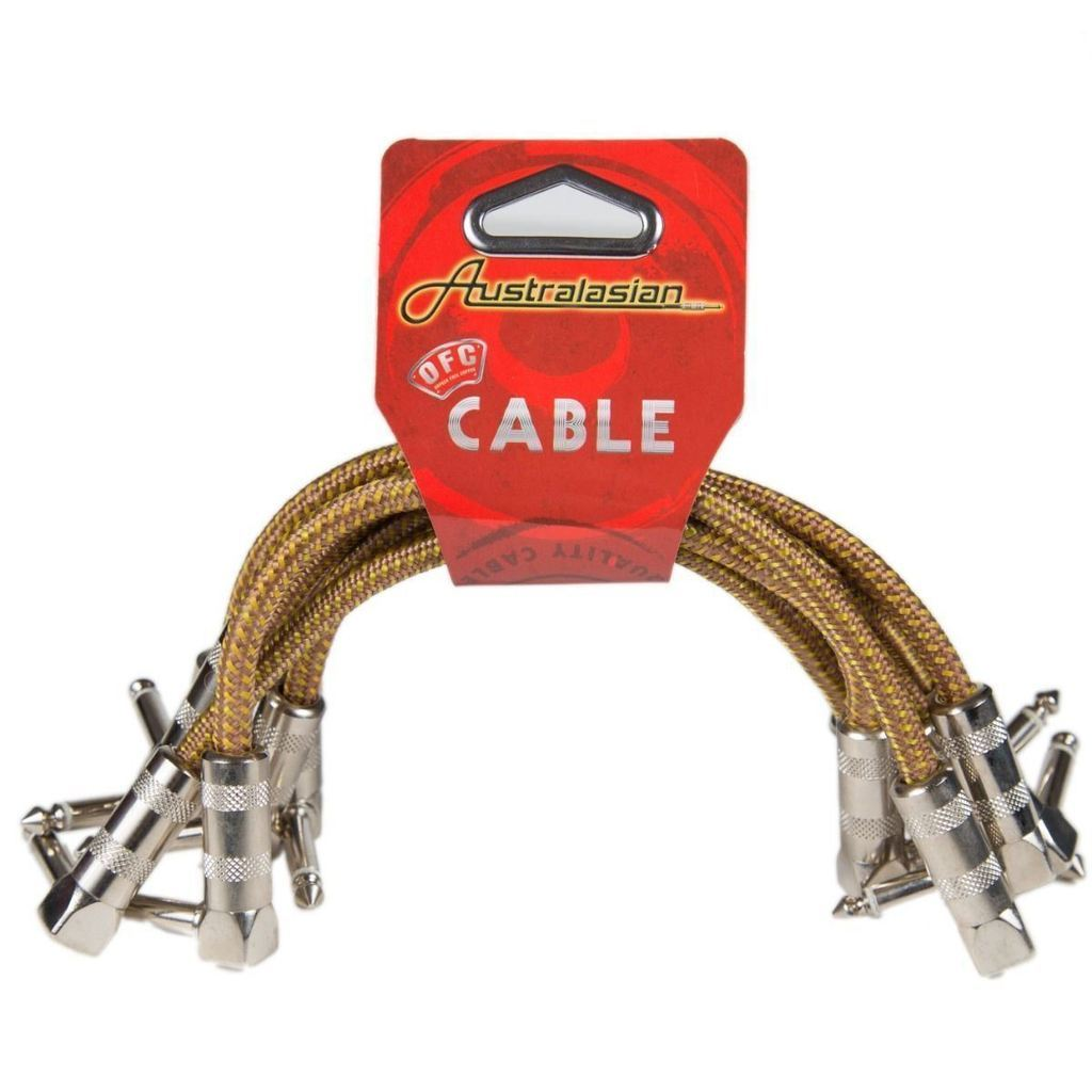 Australasian AMS615 6inch Patch Cable - Tweed