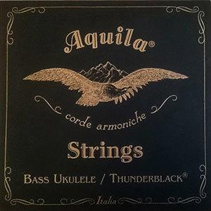Aquila 140U Thunderblack Bass Ukulele Strings