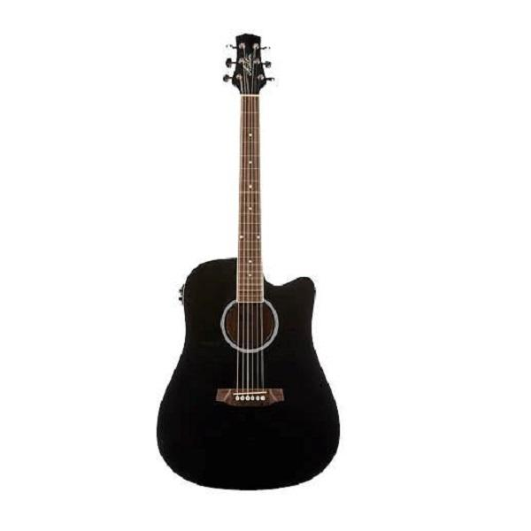Ashton D20CEQ Black Acoustic Electric