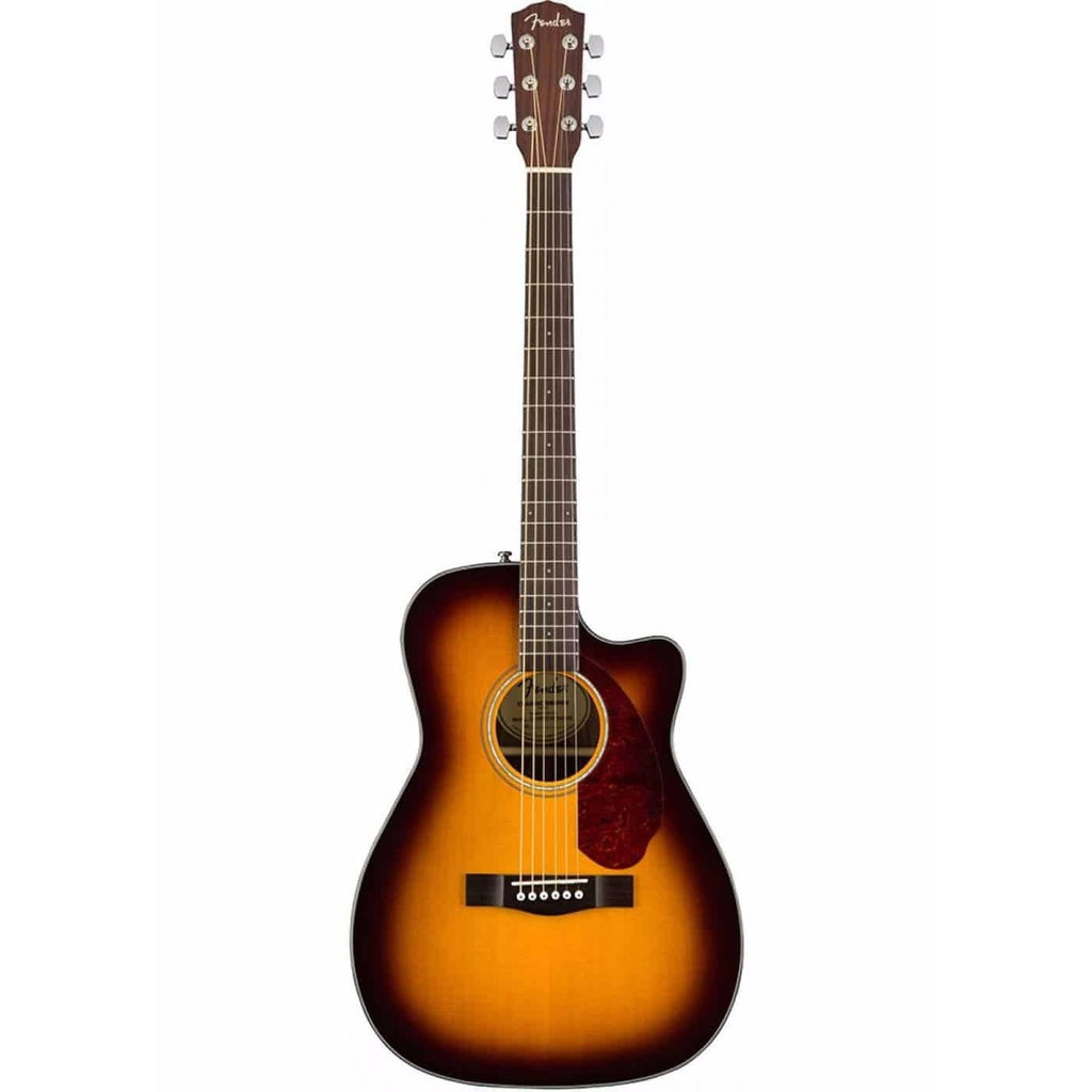 Fender CC-140sce Concert Acoustic Sunburst with Case