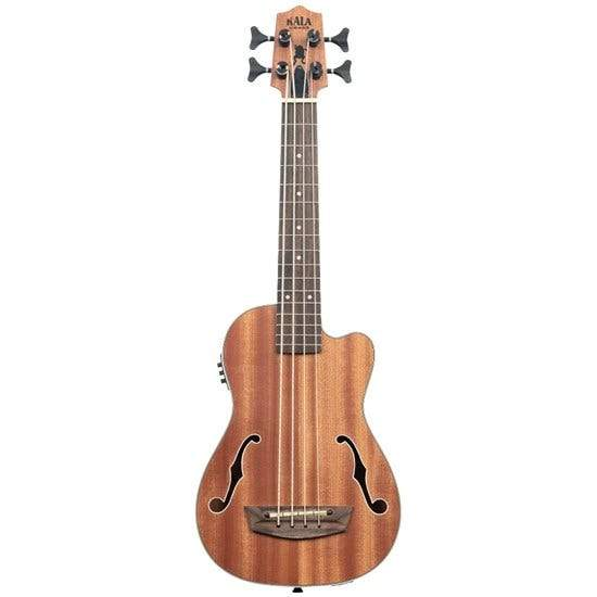 Kala Journeyman Acoustic-Electric Ubass with F-Holes