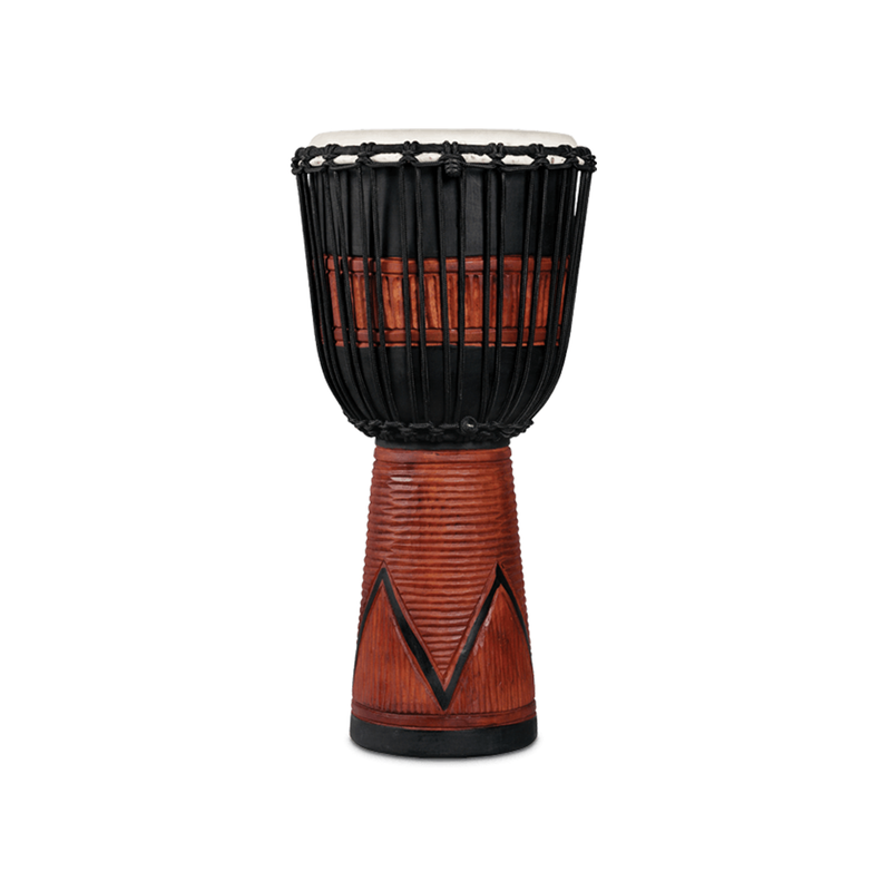 LP World Beat Art Large Djembe Large Black