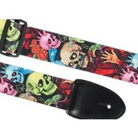 XTR Poly Cotton Strap - Skull