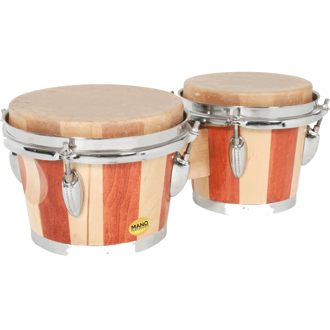Mano Percussion Two Tone Bongo