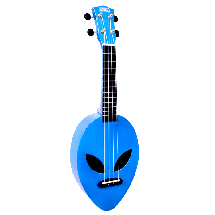 Mahalo Creative Series Alien Ukulele Blue