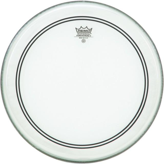 Remo 20 inch Powerstroke 3 Clear Bass Drum Head