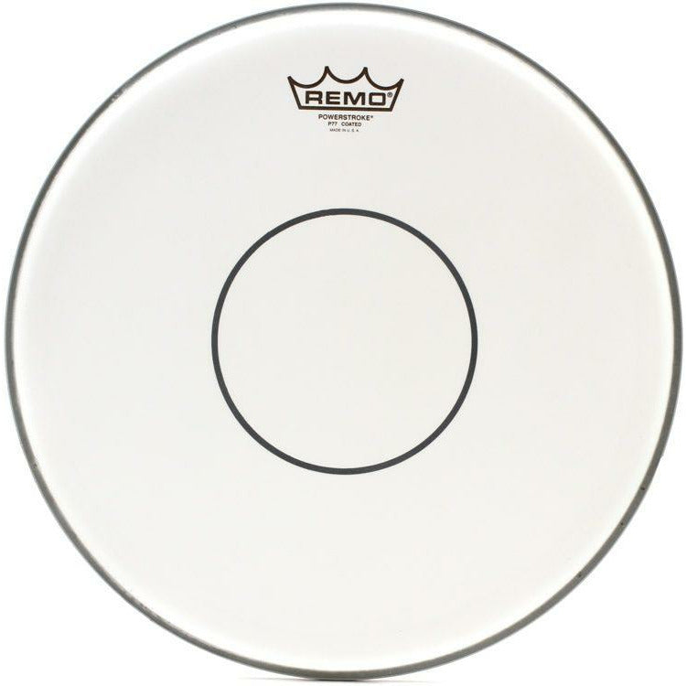 Remo 14 inch Powerstroke 77 Coated - Clear Dot Drumehead