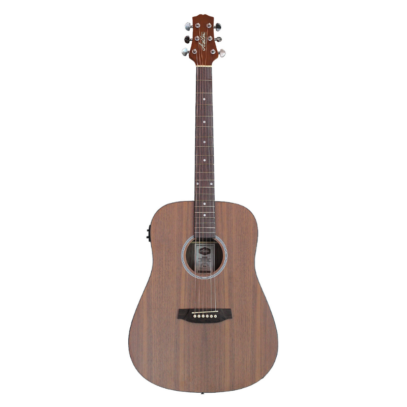 Ashton D26EQ Black Walnut Dreadnaught Acoustic