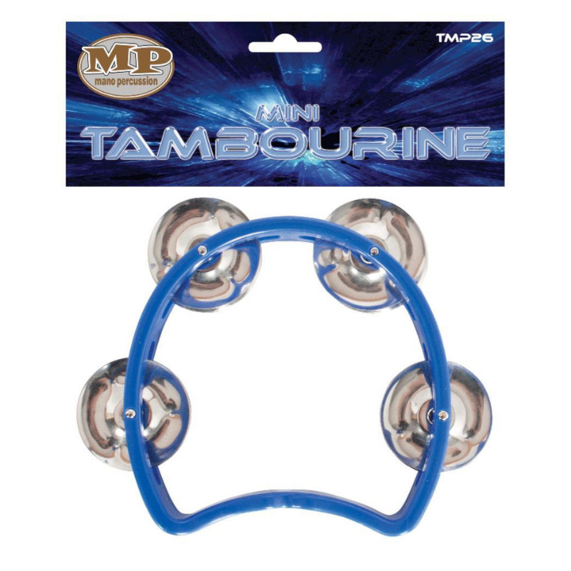 Mano Percussion TMP26 Kids Tambourine Blue