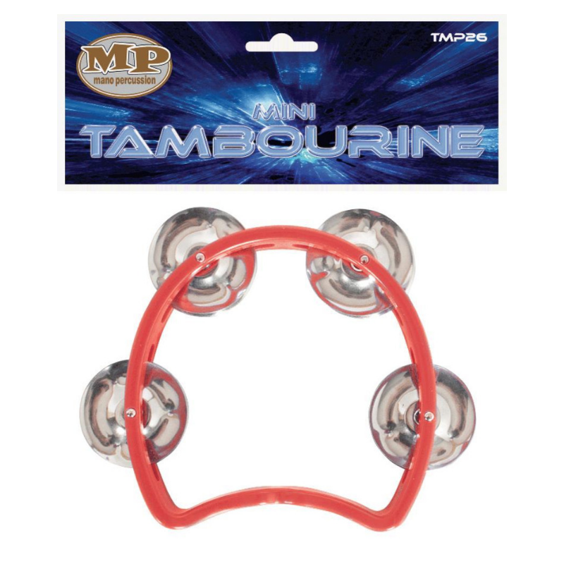 Mano Percussion TMP26 Kids Tambourine Red