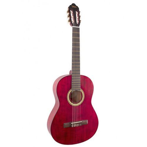 Valencia 200 Series 4/4 Classical Transparent Wine Red
