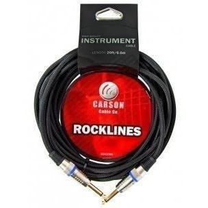 Carson Braided Instrument Cable S-S