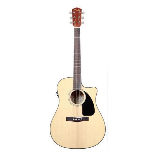 Fender CD-60SCE Classic Design Acoustic Natural